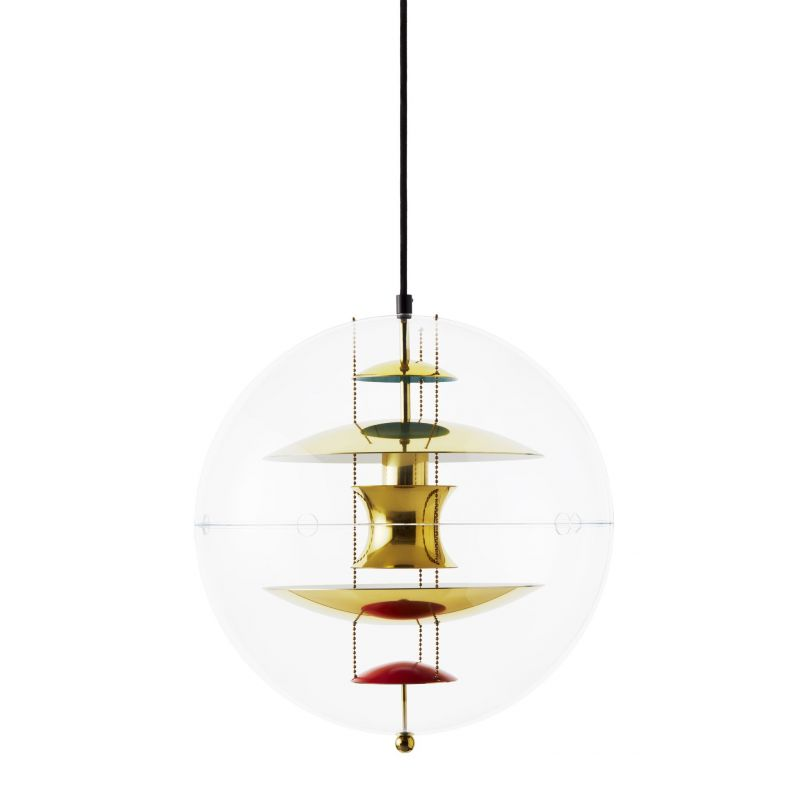 """VP Globe"" pendant lamp by Verner Panton for VERPAN"