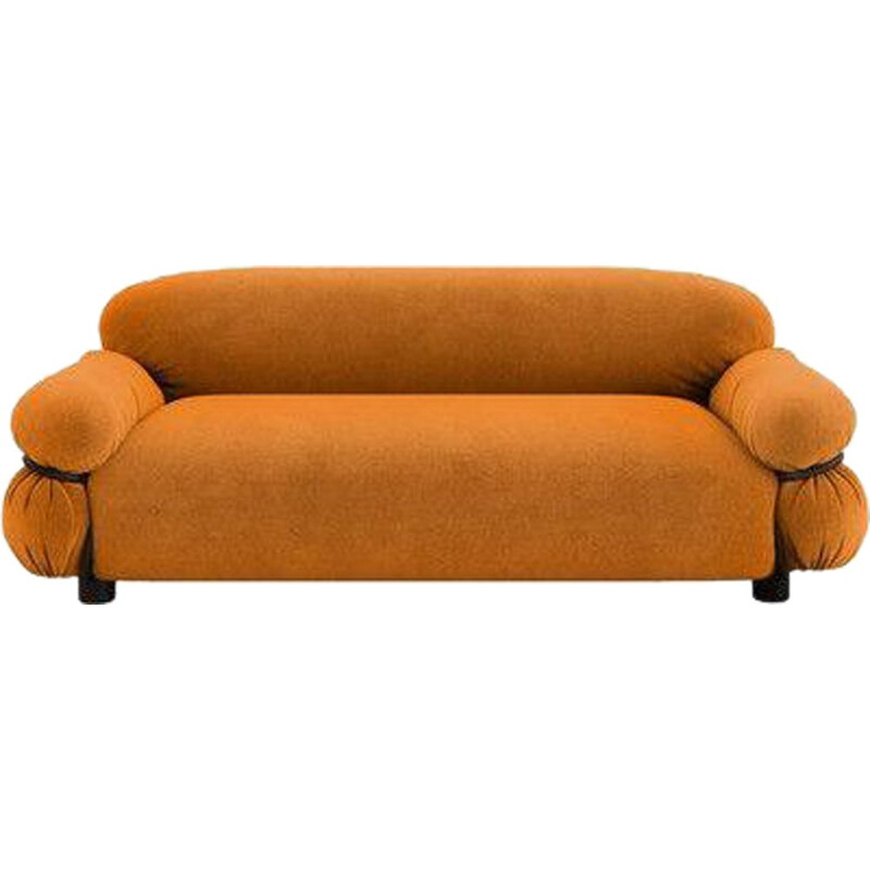 """Sesann"" 2-seater sofa by Gianfranco Frattini for TACCHINI in fabric"