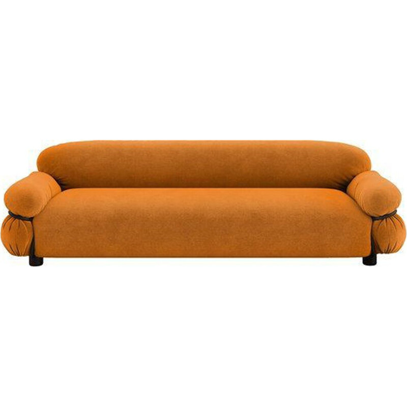 """Sesann"" 3-seater sofa by Gianfranco Frattini for TACCHINI, in fabric"