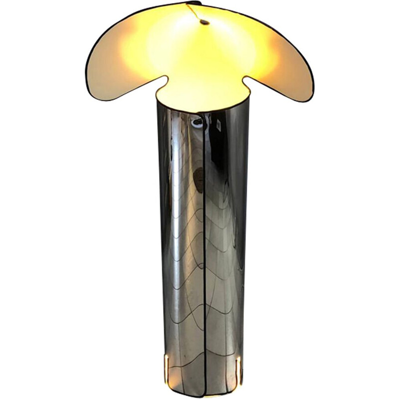 Vintage Chiara lamp by Mario Bellini for Flos 1965