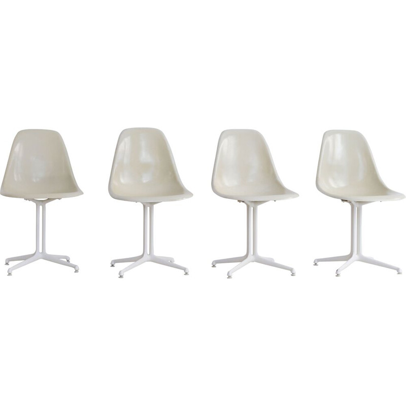 Set of 4 vintage chairs La Fonda Charles and Ray Eames