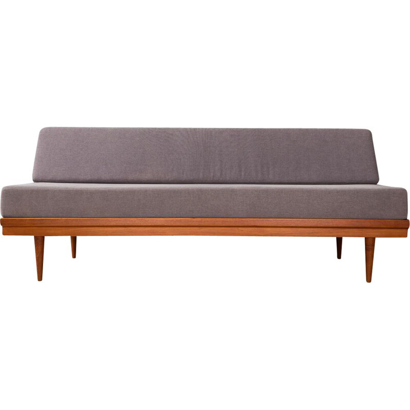 Vintage sofa in teak by Knoll Antimott Germany 1960s