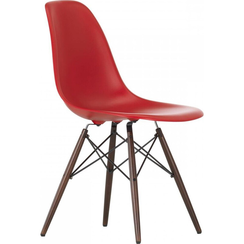 """Plastic Chair DSW"" by Charles and Ray Eames for VITRA"
