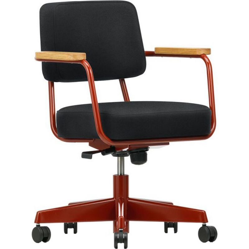 """""""Direction Pivotant"""" desk chair in fabric by Jean Prouvé for VITRA"""