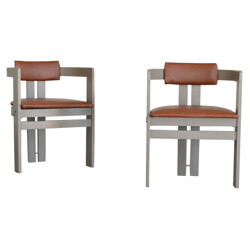 Pair of armchairs, Afra & Tobia SCARPA - 1950s