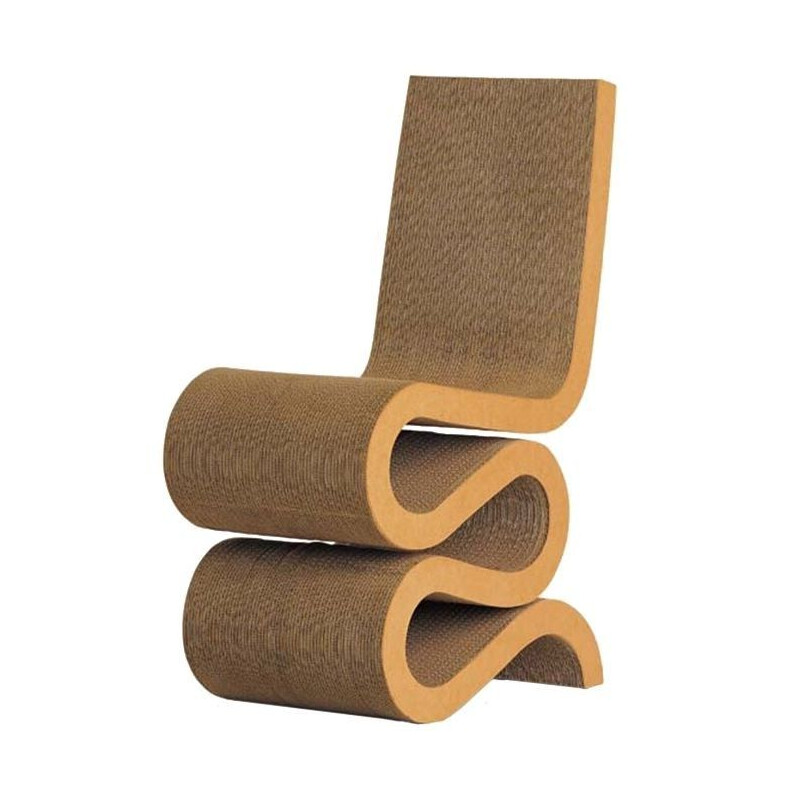 """Wiggle Side Chair"" by Franck Gehry for VITRA"
