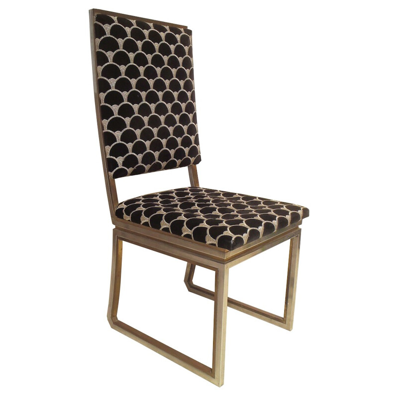 8 dining chairs, Jean Charles - 1970s