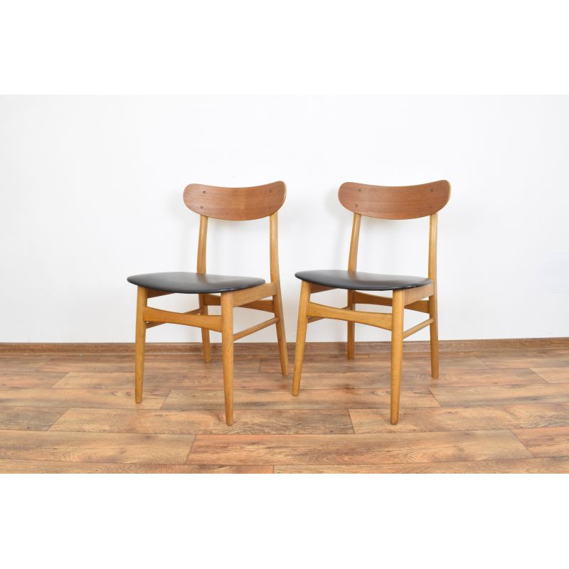 Amazing Set Of 2 Vintage Dining Chairs From Farstrup Danish 1960S Squirreltailoven Fun Painted Chair Ideas Images Squirreltailovenorg