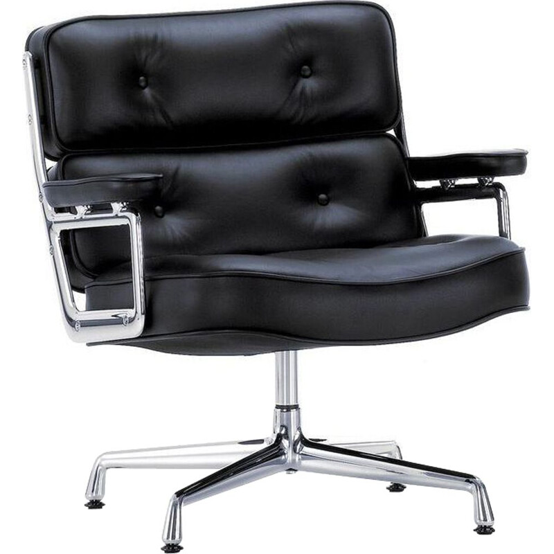 """""""Lobby Chair ES105"""" desk armchair by Charles and Ray Eames for VITRA"""