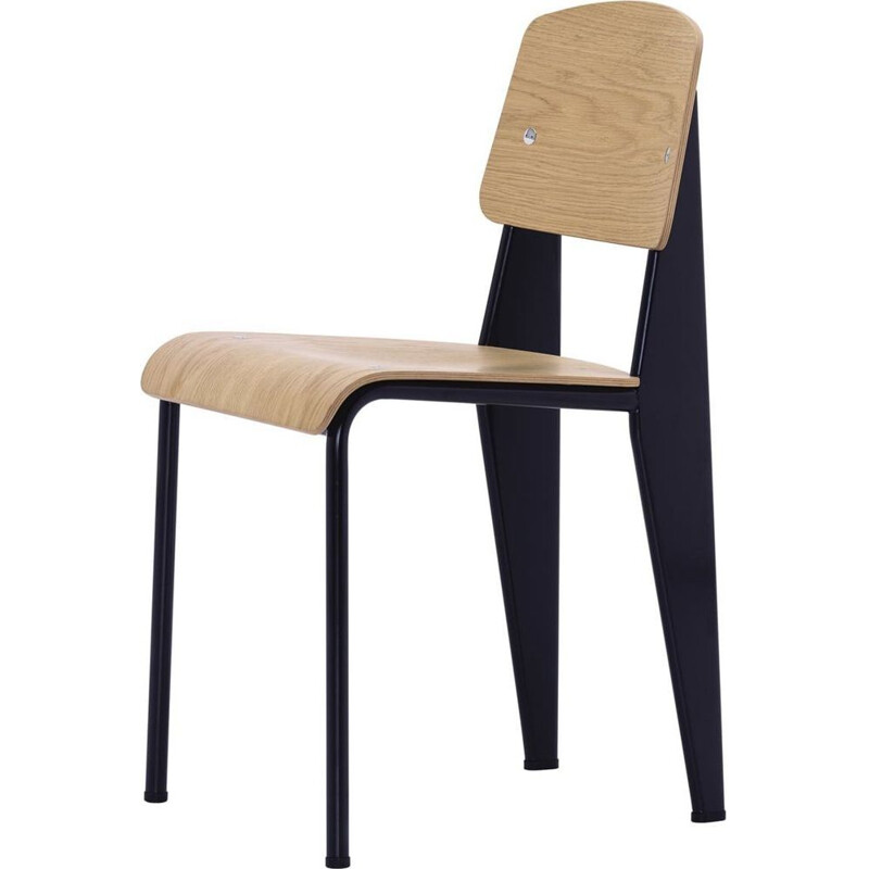 """Chaises Standard"" dining chair by Jean Prouvé for VITRA"