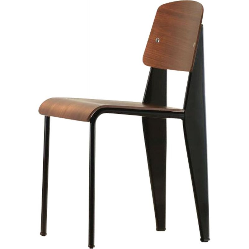 """Chaise Standard SP"" dining chair by Jean Prouvé for VITRA"