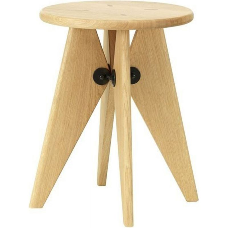 """Solvay"" stool by Jean Prouvé for VITRA"