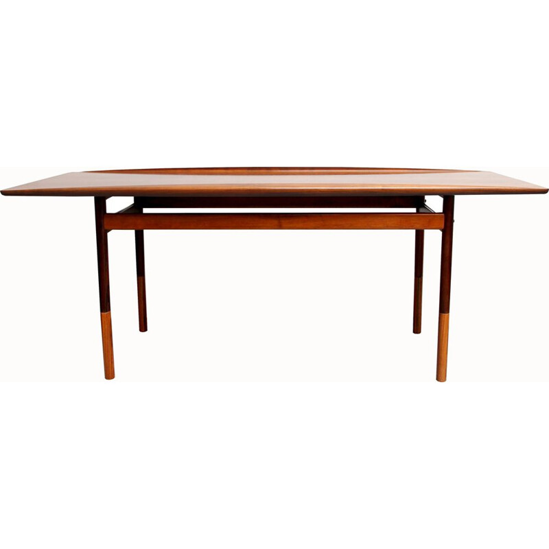 Vintage coffee table for Poul Jeppesen in rosewood 1960
