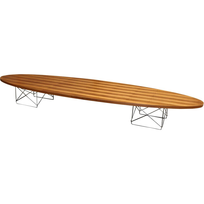 "Vintage coffee table ""surfboard"" Hermann Miller, Charles Eames 1960s"