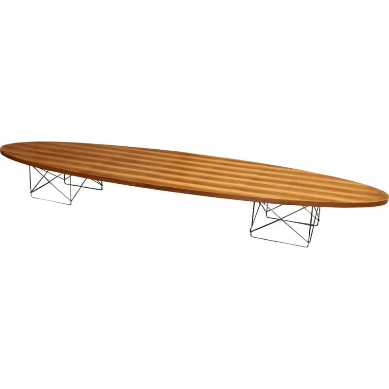 Eames Surfboard Coffee Table.Vintage Coffee Table Surfboard Hermann Miller Charles Eames 1960s