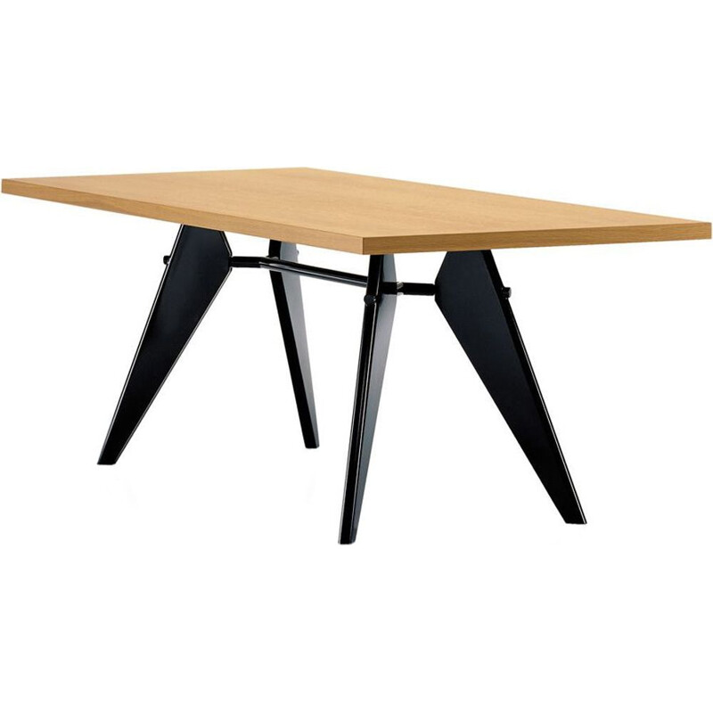 """EM"" dining table by Jean Prouvé for VITRA"
