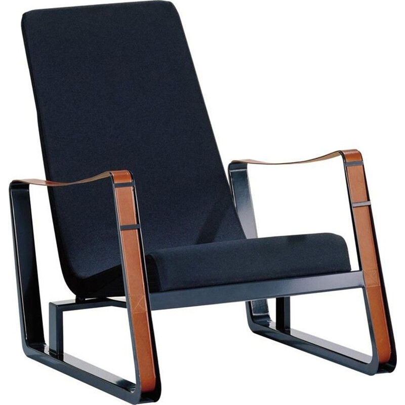 """Cité"" armchair in fabric by Jean Prouvé for VITRA"
