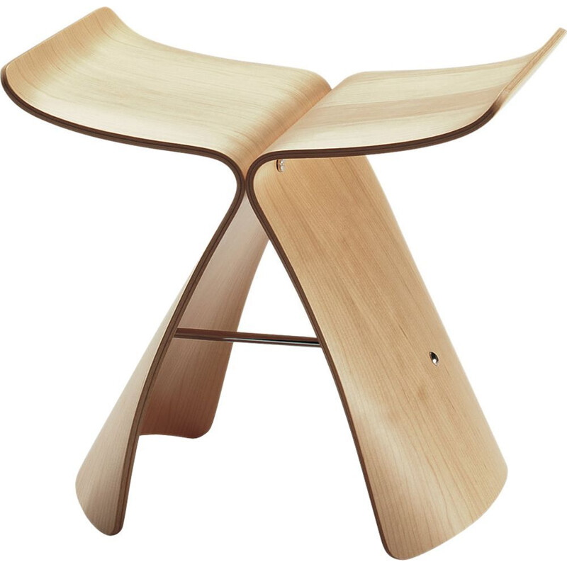 """Butterfly"" stool by Sori Yanagi for VITRA"