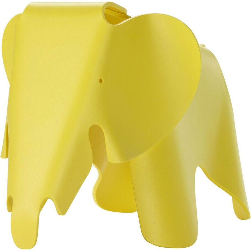 """Eames Elephant"" plastic stool by Charles and Ray Eames for VITRA"