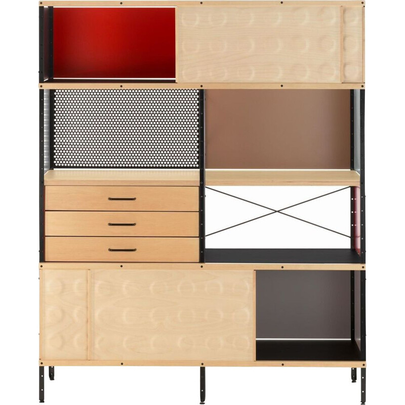 """ESU"" bookcase by Charles and Ray Eames for VITRA"