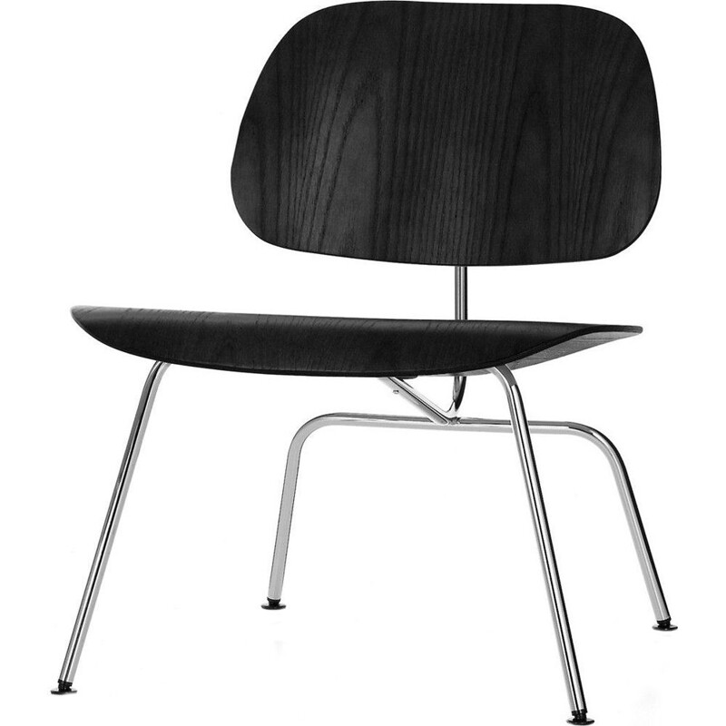 """LCM"" lounge metal chair by Charles and Ray Eames"