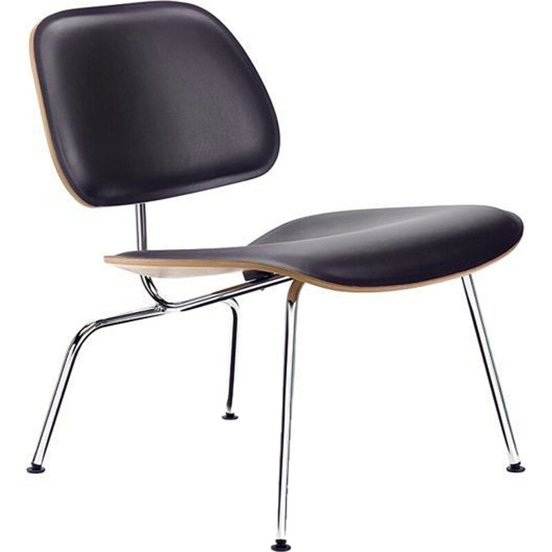 """LCM"" leather lounge chair by Charles and Ray Eames for VITRA"