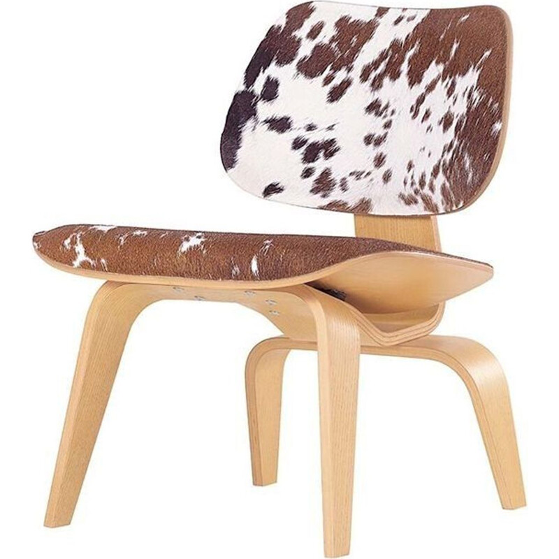 """LCW"" calf's skin lounge chair by Charles and Ray Eames for VITRA"