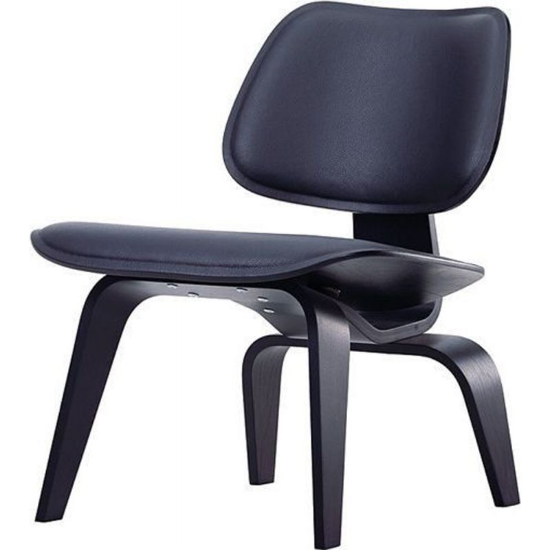 """""""LCW"""" leather lounge chair by Charles and Ray Eames for VITRA"""