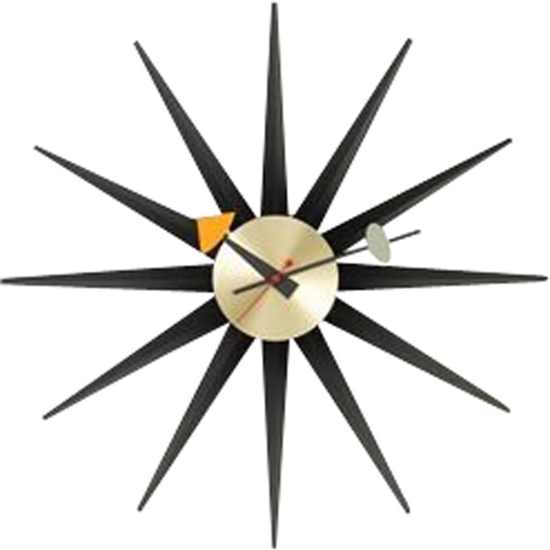 """Sunburst Clock Nelson"" by George Nelson for VITRA"