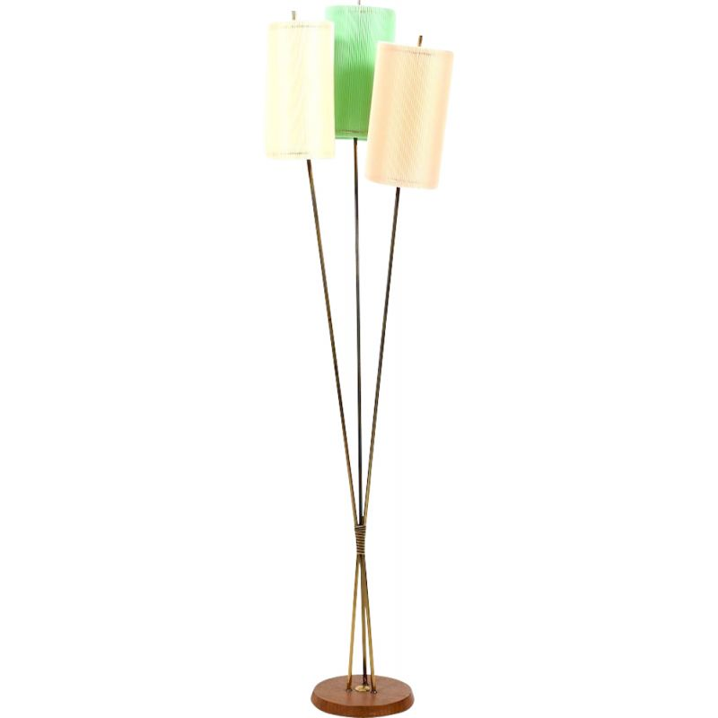 Vintage floor lamp Germany 1950s