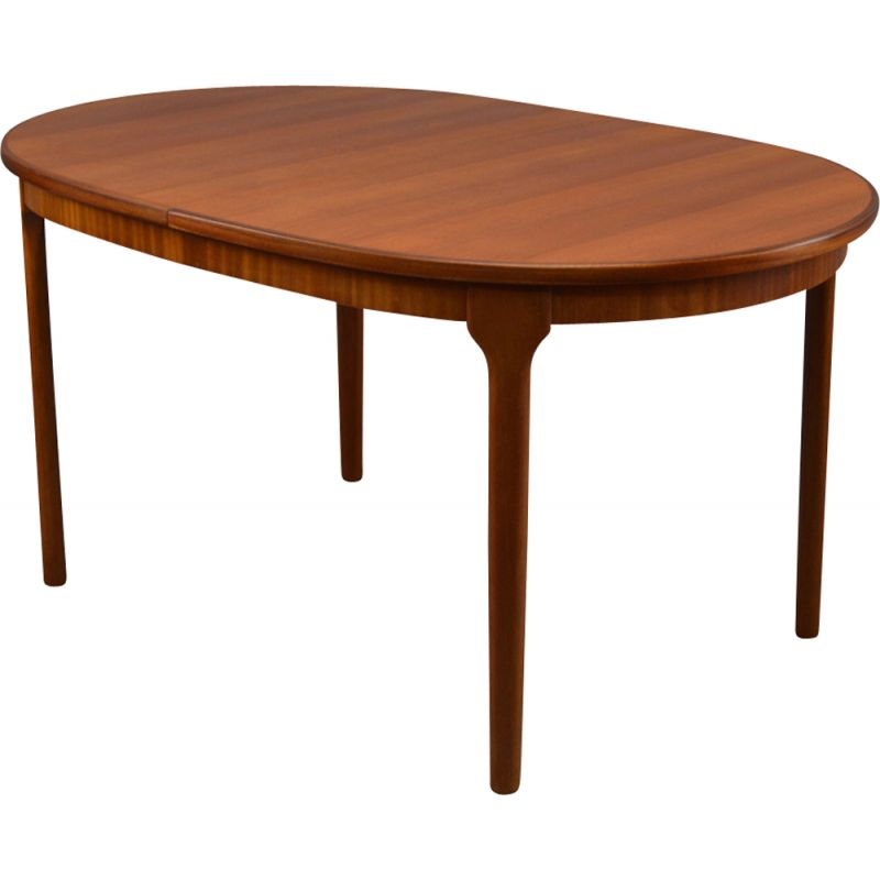 Vintage Dinning Table Oval in teak By McIntosh 1970s