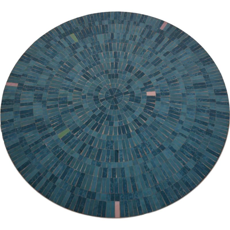 Vintage coffee table by Berthold Muller Oerlinghausen in ceramics and mosaic 1970