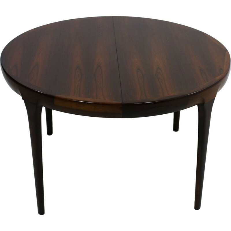 Vintage extendable table for Faarup in rosewood 1960