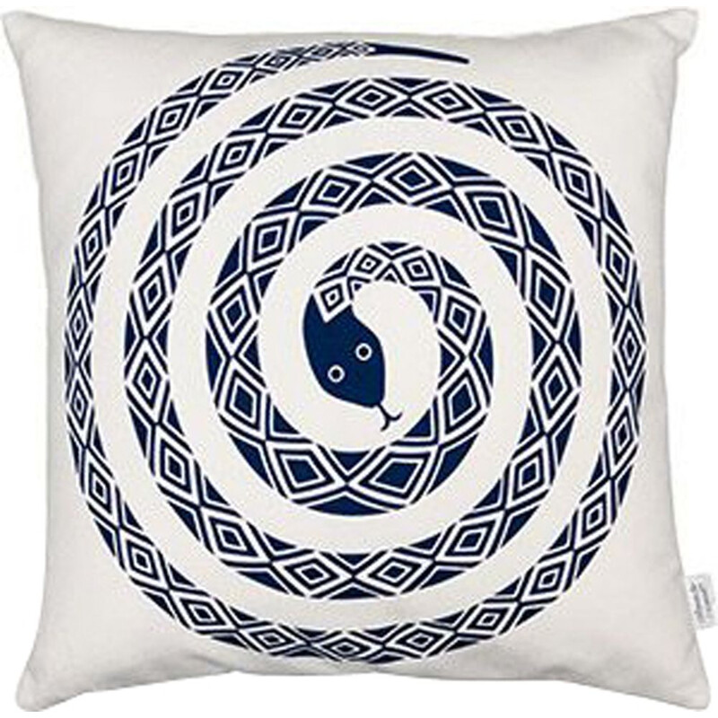 """Graphic Print Pillows - Snake"" by Alexander Girard for VITRA"