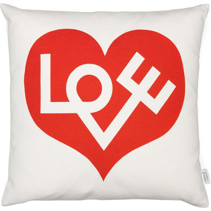 """Graphic Print Pillows - Love"" by Alexander Girard for VITRA"