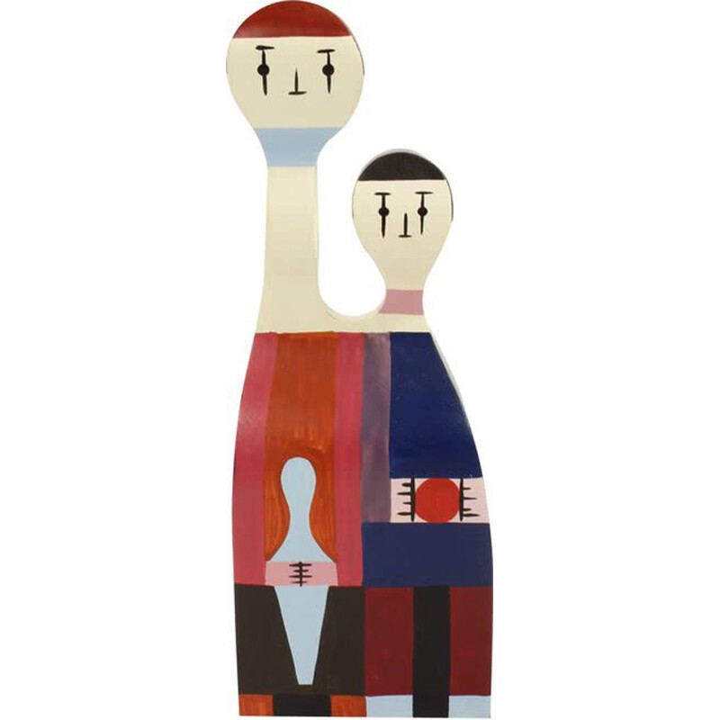 """Wooden Dolls No. 11"" by Alexander Girard pour VITRA."