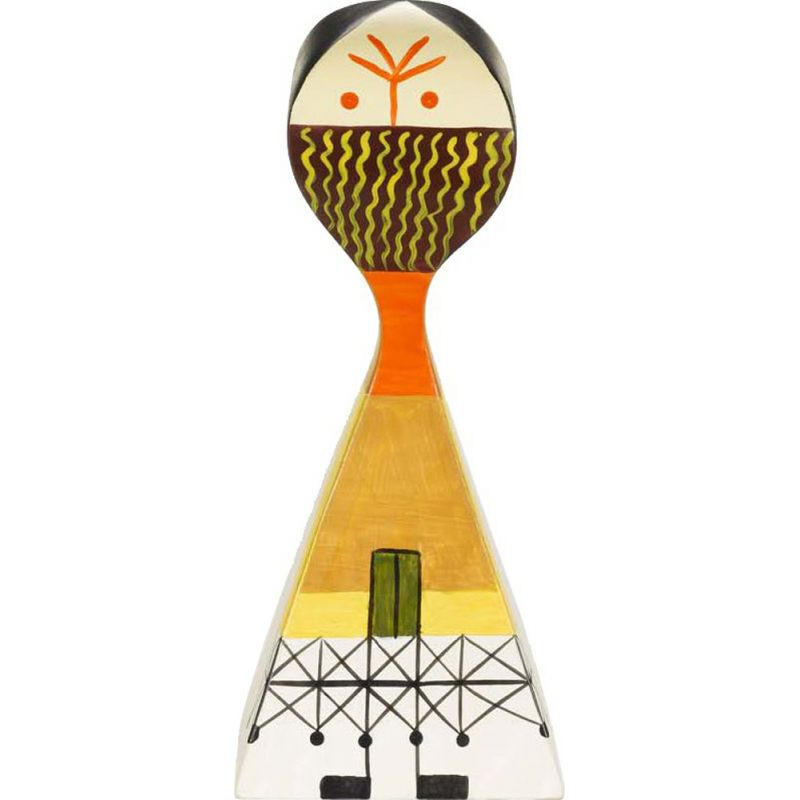"""""""Wooden Dolls No. 13"""" by Alexander Girard pour VITRA."""