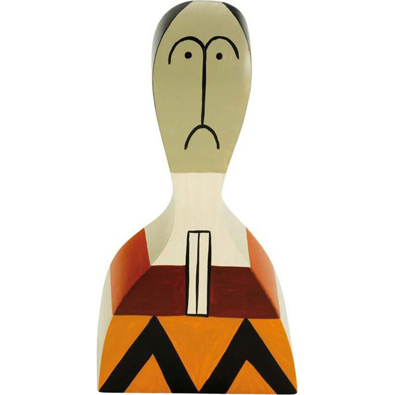 """""""Wooden Dolls No. 17"""" by Alexander Girard pour VITRA."""