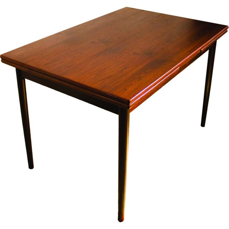 Vintage danish table for SOS in rosewood 1960