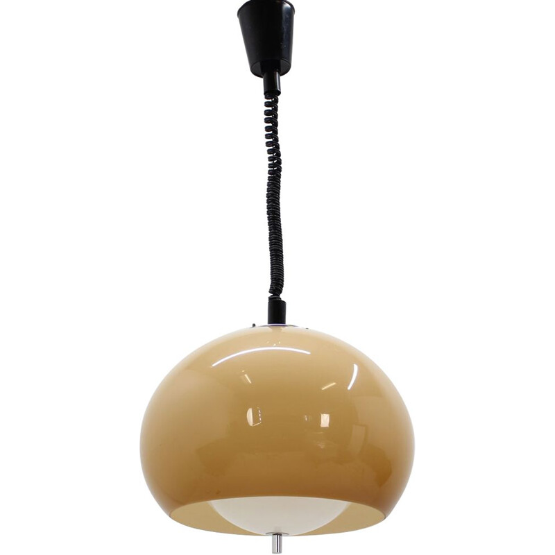 Vintage pendant light by Harvey Guzzini for Meblo,1970