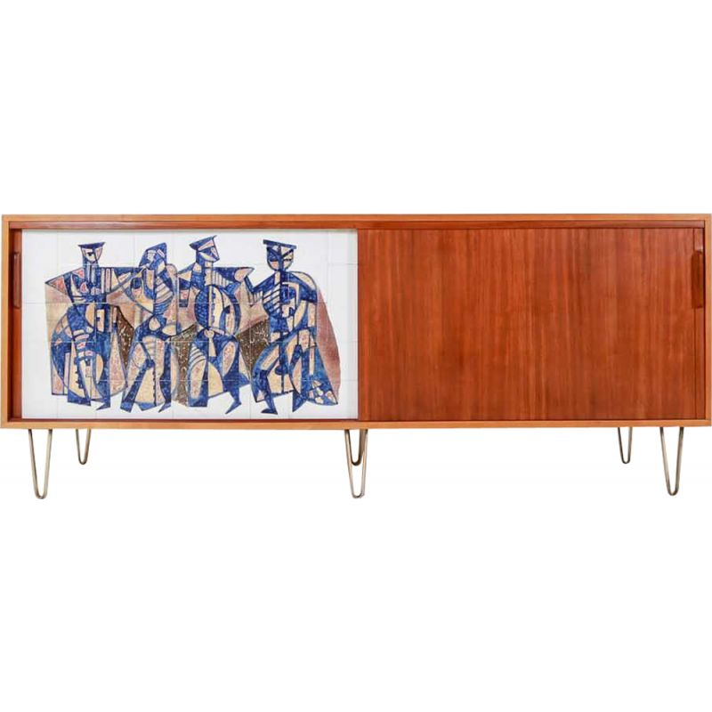 Vintage sideboard by Alfred Hendrickx for Belform,1960