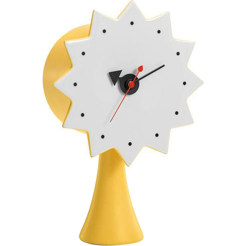 """Ceramic Clock Model 2"" by George Nelson for VITRA"