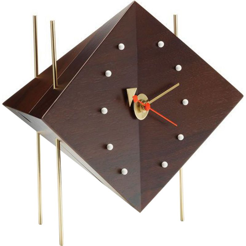 """Desk Clocks - Diamond Clock"" by George Nelson for VITRA"