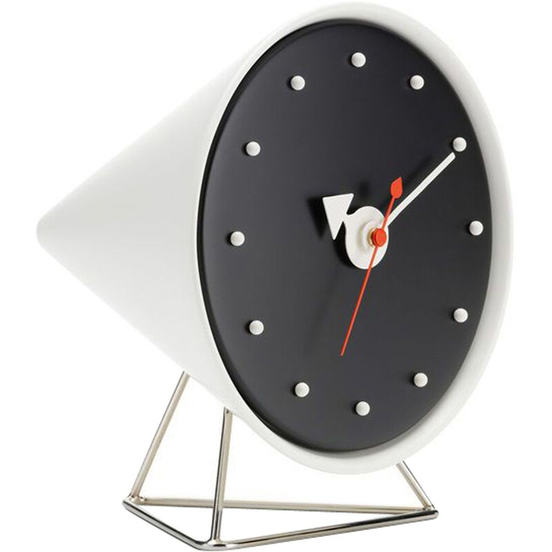 """Desk Clocks - Cone Clock"" by George Nelson for VITRA"