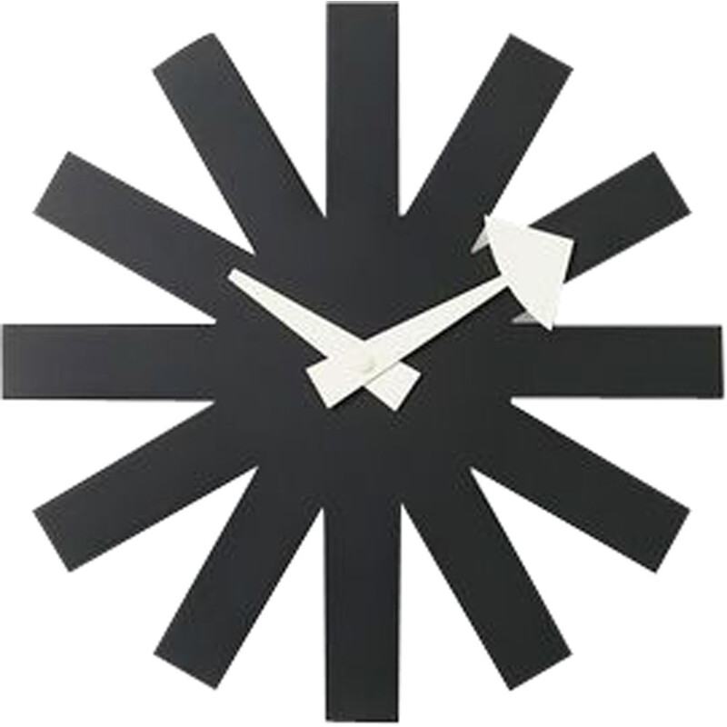 """Wall Clocks - Asterisk Clock"" by George Nelson for VITRA"