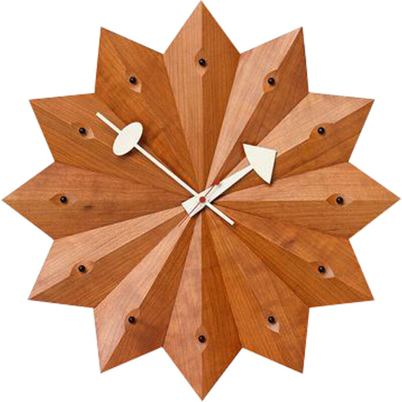 """Wall Clocks - Fan Clock"" by George Nelson for VITRA"