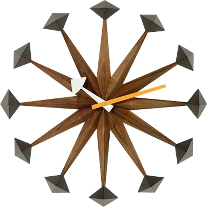 """Wall Clocks - Polygon Clock"" by George Nelson for VITRA"