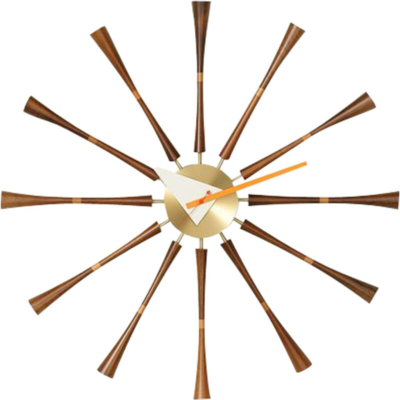 """Wall Clocks - Spindle Clock"" by George Nelson for VITRA"