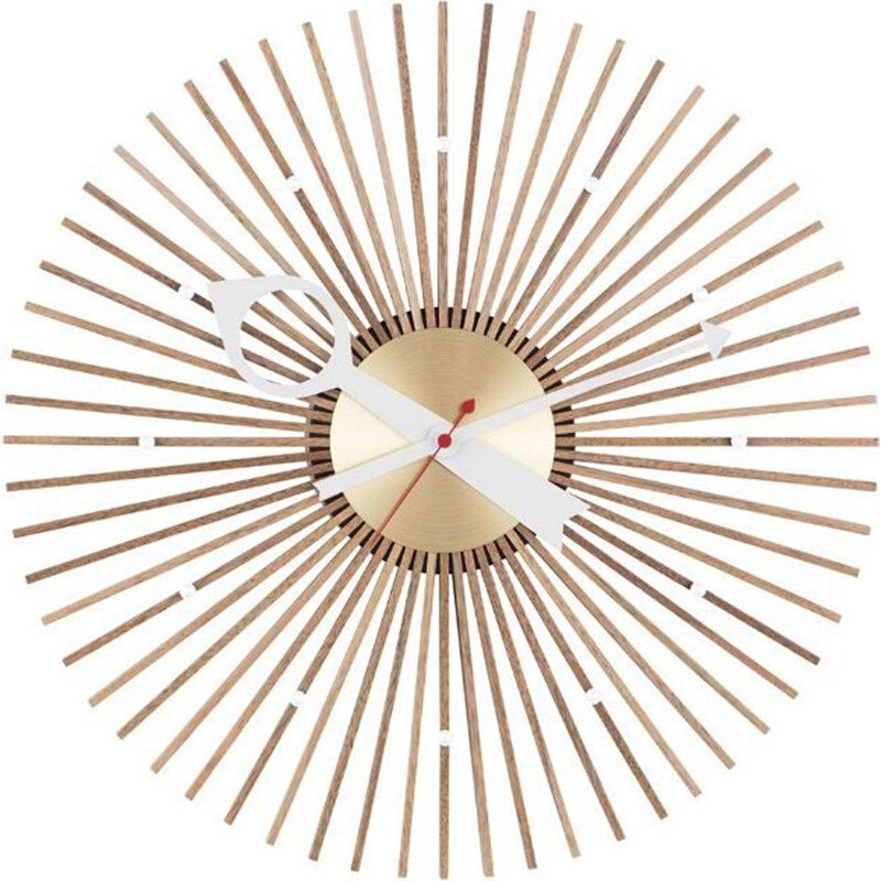 """Wall Clocks - Popsicle Clock"" by George Nelson for VITRA"