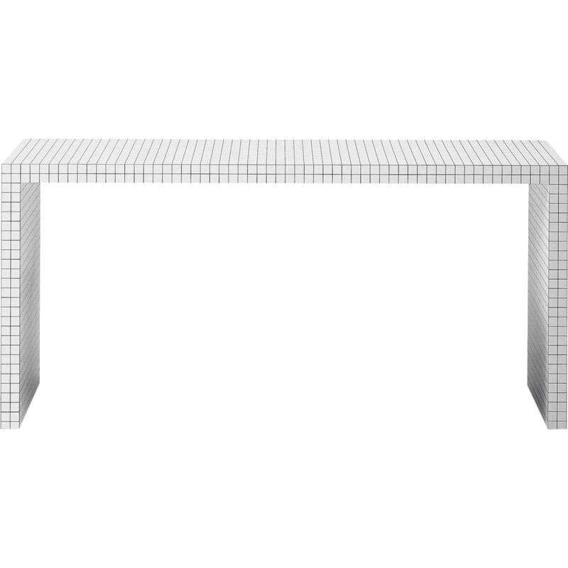 """Quaderna"" desk by Superstudio for ZANOTTA"